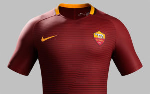 AS Roma 2016 2017 maillot de foot domicile