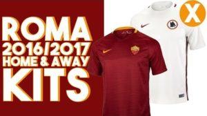 AS Roma 2017 maillots de football 2016 2017 Nike