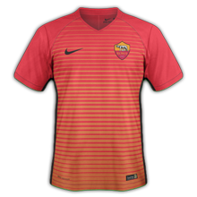 AS Roma 2017 troisieme maillot third 16-17