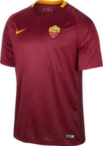 As Roma 2017 maillot domicile foot 16-17