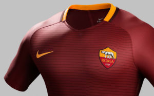 As Roma 2017 maillot domicile foot Nike 16-17