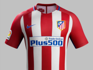 Atletico Madrid 2017 maillot domicile 16-17