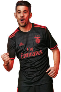 Benfica 2017 maillot exterieur football Adidas