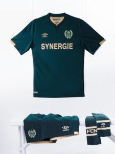 FC Nantes 2017 maillot de foot exterieur 16-17 Umbro