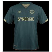 FC Nantes 2017 maillot de foot exterieur vert 16-17