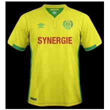 FC Nantes 2017 maillot domicile foot 16-17