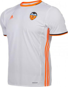 FC Valencia 2017 maillot domicile football 2016 2017