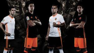 FC Valencia 2017 maillots de foot 2016 2017