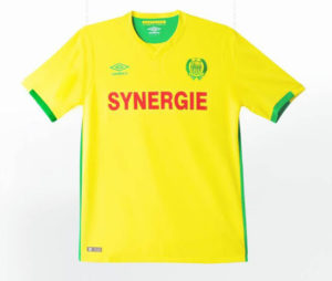 FC nantes 2017 maillot officile domicile
