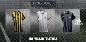 Fenerbhace 2016 2007 maillots de football Adidas