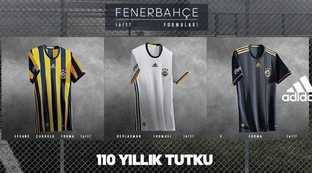 Officiel les nouveaux maillots de Fenerbahce 2017