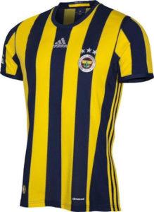 Fenerbahce 2017 maillot de foot domicile 16-17