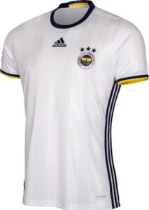 Fenerbahce 2017 maillot exterieur 16-17