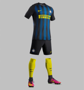 Inter Milan 2017 maillot domicile foot 2016 2017