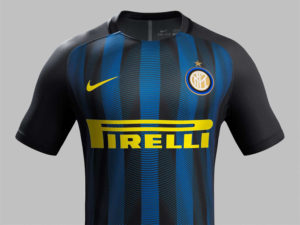 Inter de Milan 2017 maillot de football de face 16-17