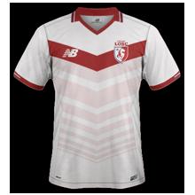 LOSC 2017 maillot domicile foot Lille 2016 2017