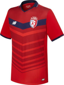 LOSC 2017 maillot exterieur Lille 2016 2017