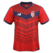 LOSC 2017 maillot exterieur foot Lille