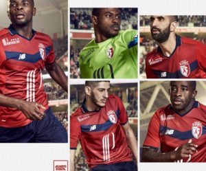 LOSC 2017 maillot exterieur football Lille 2016 2017