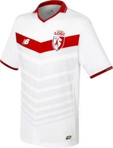 LOSC 2017 nouveau maillot blanc domicile New Balance