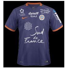 MHSC Montpellier 2017 maillot domicile