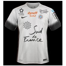 MHSC Montpellier 2017 maillot extérieur foot