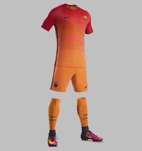 Nike troisieme maillot de foot AS Rome 2016 2017 third