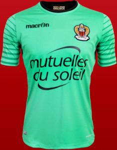 OGC Nice 2017 maillot gardien