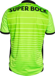 Sporting 2017 3eme maillot third 2016-2017 dos