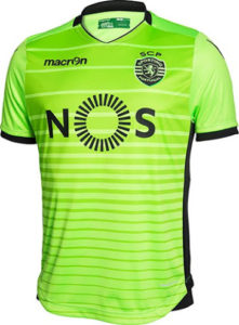 Sporting 2017 maillot third 2016-2017