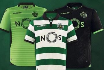 Sporting 2017 les nouveaux maillots de foot 16-17