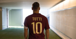 Totti maillot AS Roma special derby 2016 2017