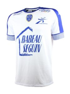 Troyes 2017 maillot exterieur blanc 2016 2017