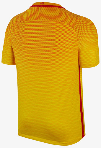 Chine 2017 maillot Nike exterieur 16-17