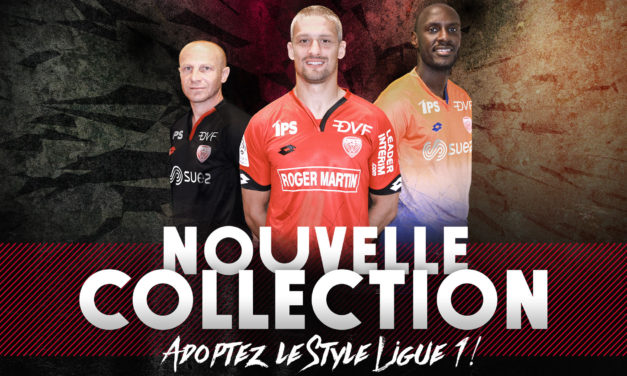 DFCO les maillots de foot Dijon 2017 en L1
