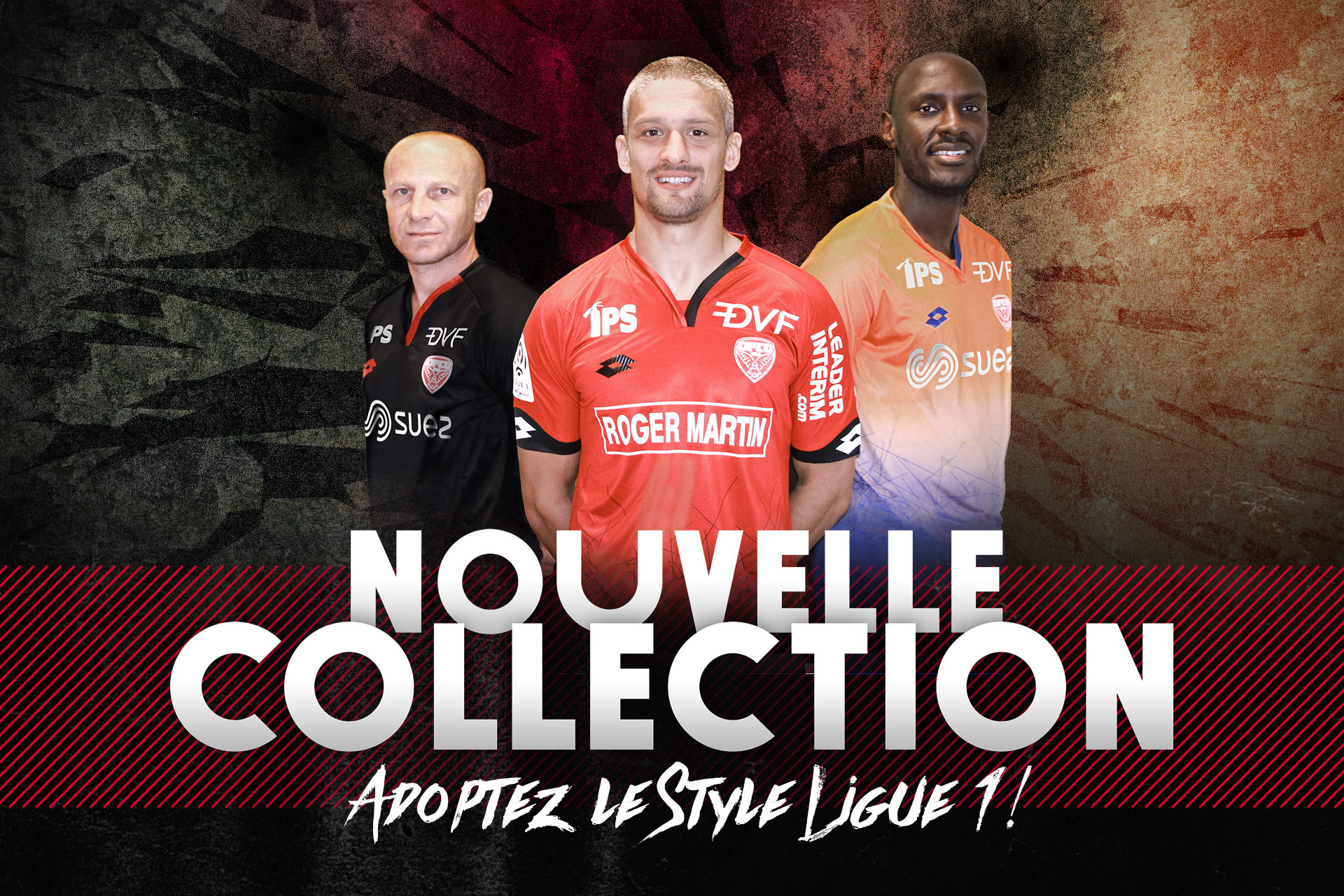 Dijon 2016 2017 maillots de football Umbro