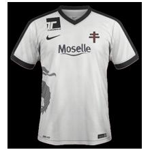 FC Metz 2017 maillot extérieur foot