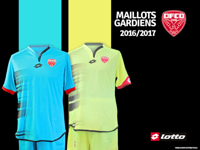 FCO Dijon 2017 maillot de gardien Umbro