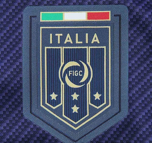 Italie 2017 blason FIGC maillot foot entrainement