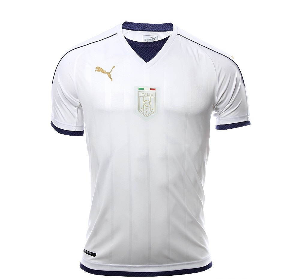 Italie 2017 maillot foot exterieur blanc hommage