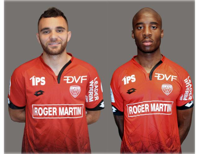 Marvin Martin maillot domicile Dijon FCO 2017