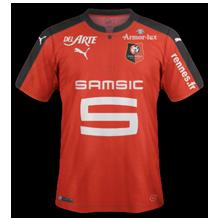 Rennes 2017 maillot domicile foot