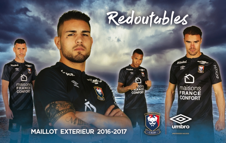 SM Caen 2017 maillot exterieur football foot