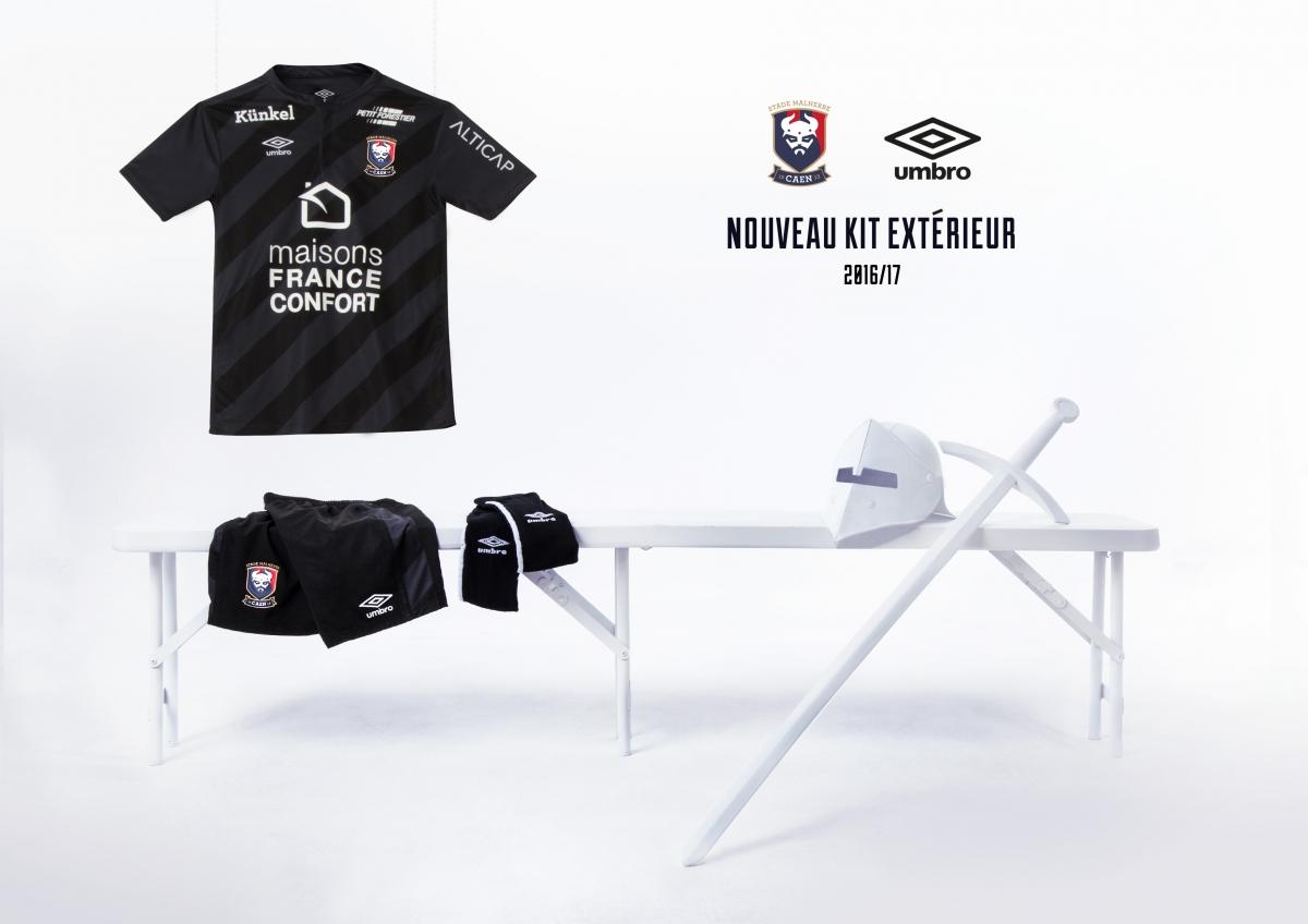 SM Caen 2017 maillot exterieur officiel 2016 2017