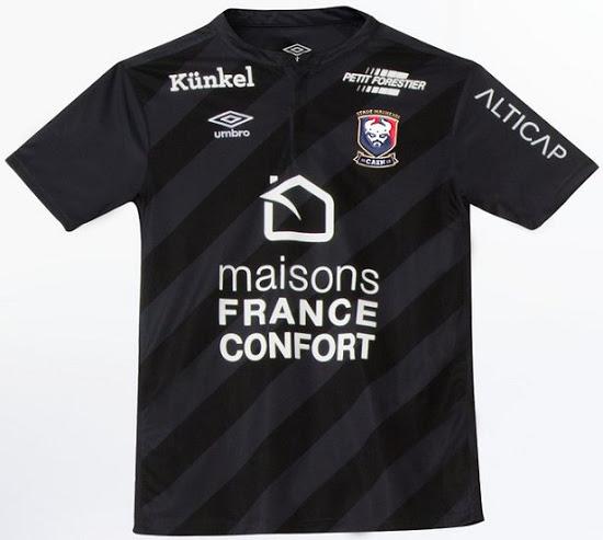 SM Caen 2017 maillot exterieur officiel Umbro 2016 2017
