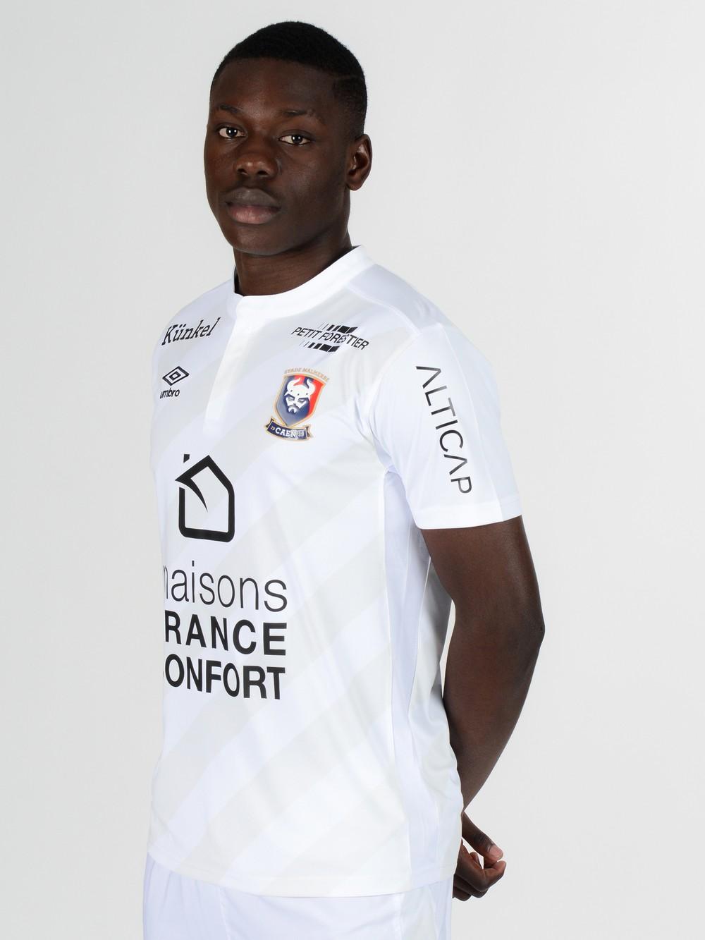 SM Caen 2017 troisieme maillot third blanc 2016 2017