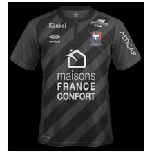 SM Caen maillot exterieur 2016 2017 foot