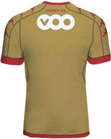 Standard de Liège 2017 dos troisieme maillot third