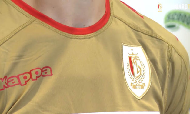Standard de Liège 2017 les nouveaux maillots de Kappa