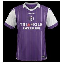 TFC Toulouse 2017 maillot domicile foot